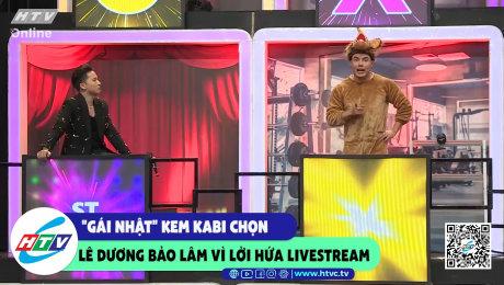 """""""Gái Nhật"""" Kem Kabi chọn Lê Dương Bảo Lâm vì lời hứa livestream"""